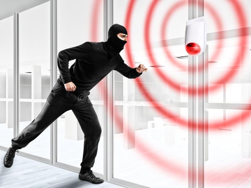 Alarm dla kraść złodzieja zdjęcie stock