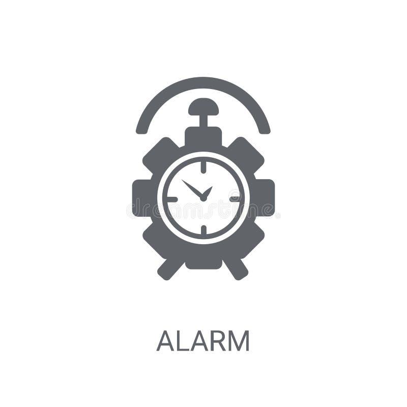Alarm icon. Trendy Alarm logo concept on white background from H royalty free illustration