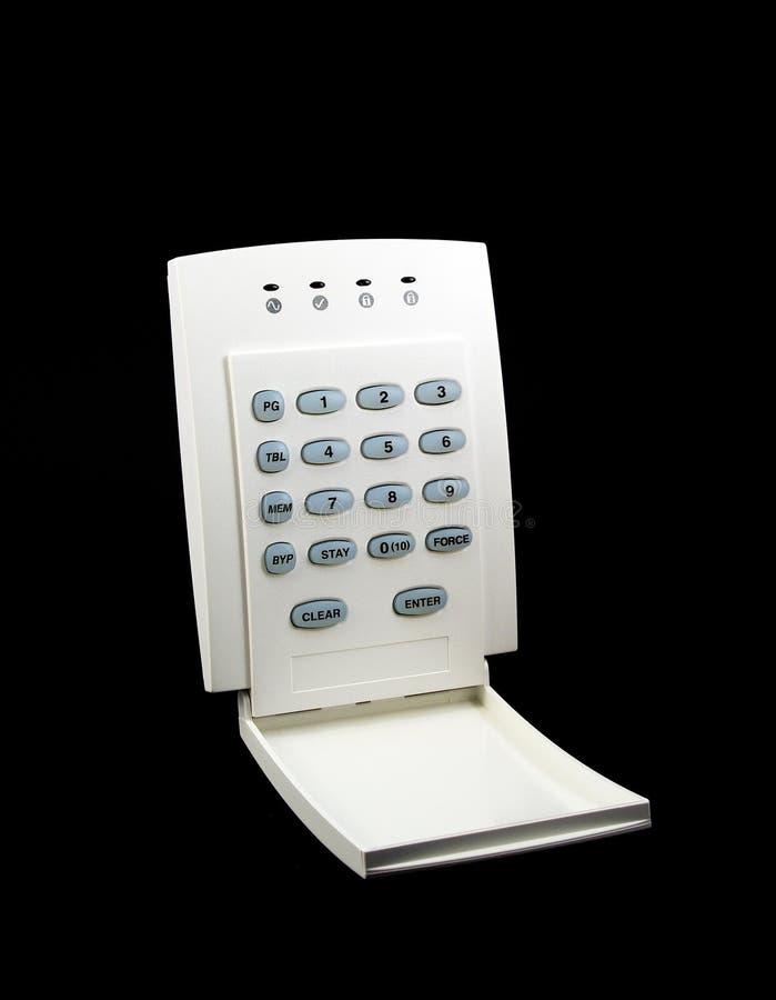 Alarm Keypad royalty free stock image