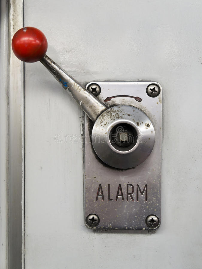Download Alarm lever stock image. Image of rescue, prevention - 29998781