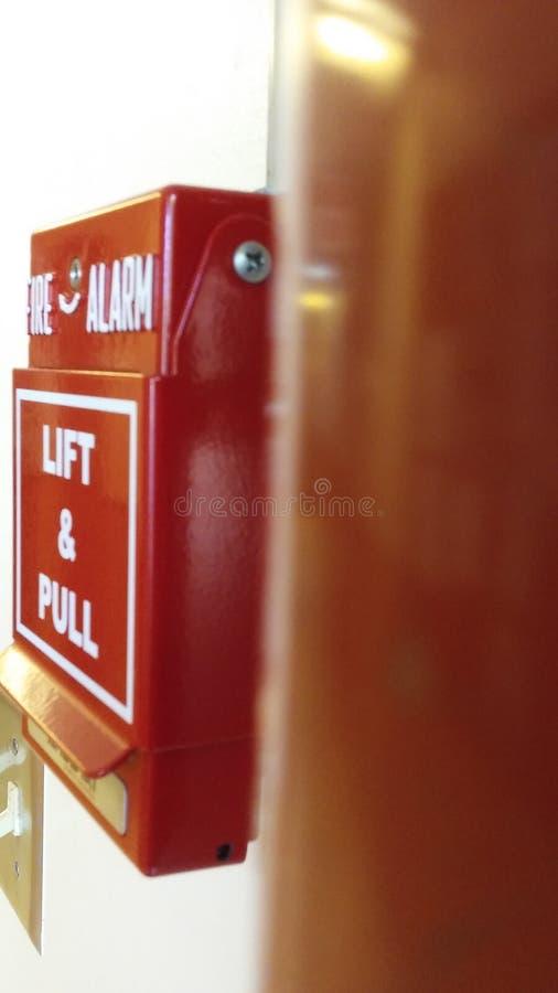 alarm rök för banan för clippingavkännarebrand bilden isolerad arkivfoton