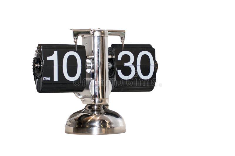 Alarm watch clock Modern isolated. Alarm watch clock Modern vintage isolated royalty free stock photos