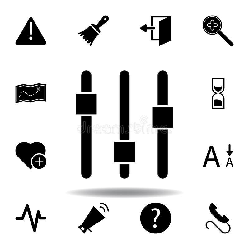 Alarma, atenci?n, error, icono amonestador Las muestras y los s?mbolos se pueden utilizar para la web, logotipo, app m?vil, UI, U libre illustration