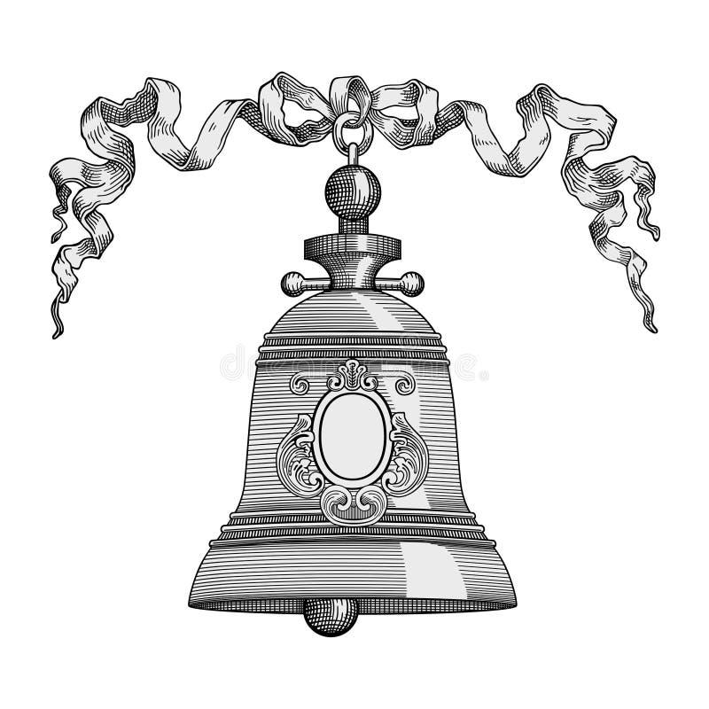 Alarma de cascabeleo ilustración del vector