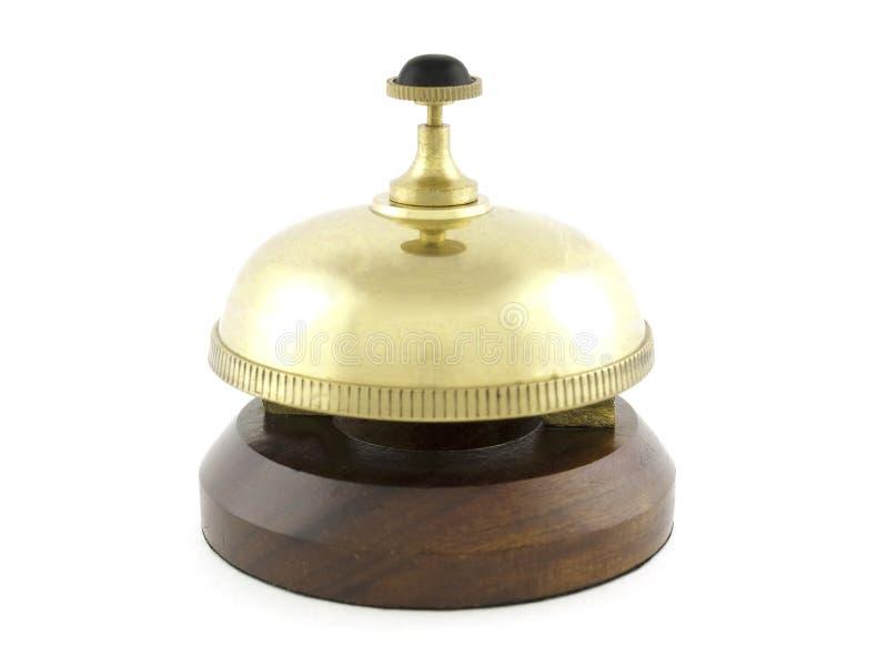 Alarma de cobre amarillo imagenes de archivo
