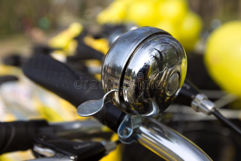 Alarma de la bicicleta imagen de archivo