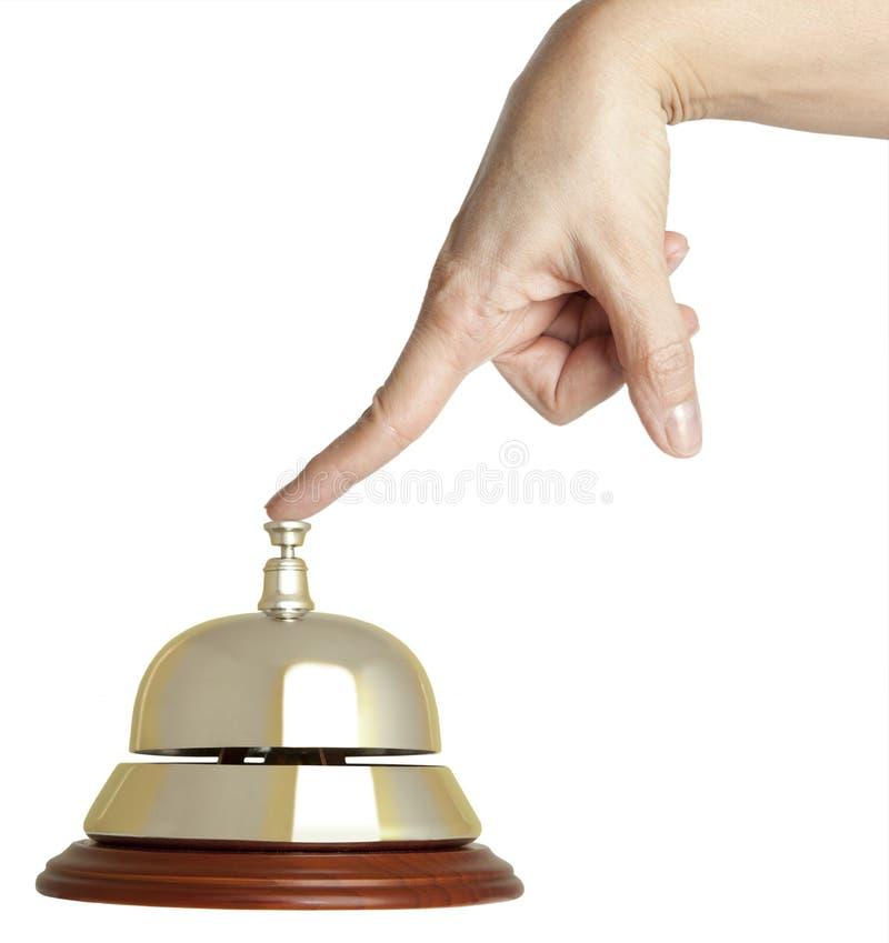 Alarma del hotel fotografía de archivo