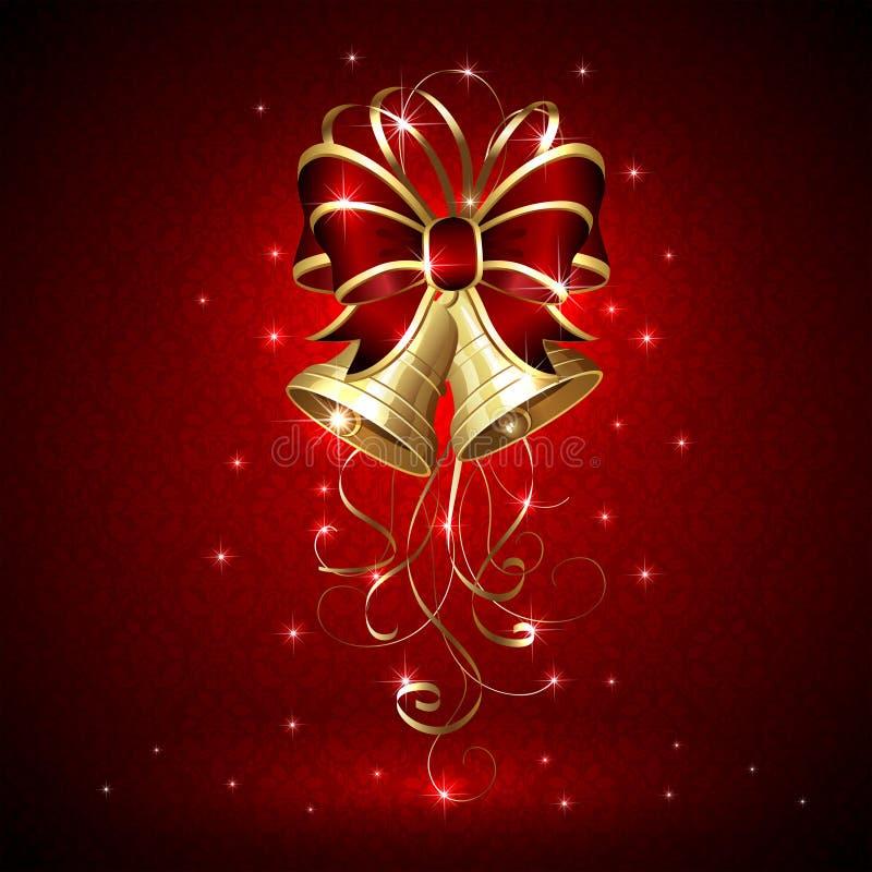 Alarmas de la Navidad stock de ilustración
