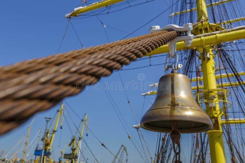 Alarme alto do navio fotografia de stock