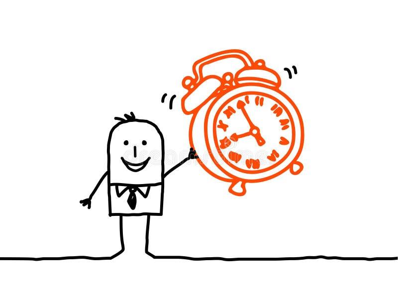 Alarme d'horloge illustration libre de droits