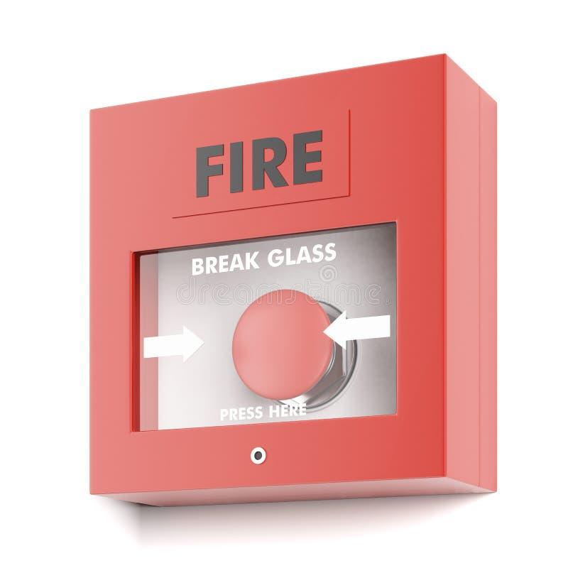 Alarme d'incendie illustration de vecteur