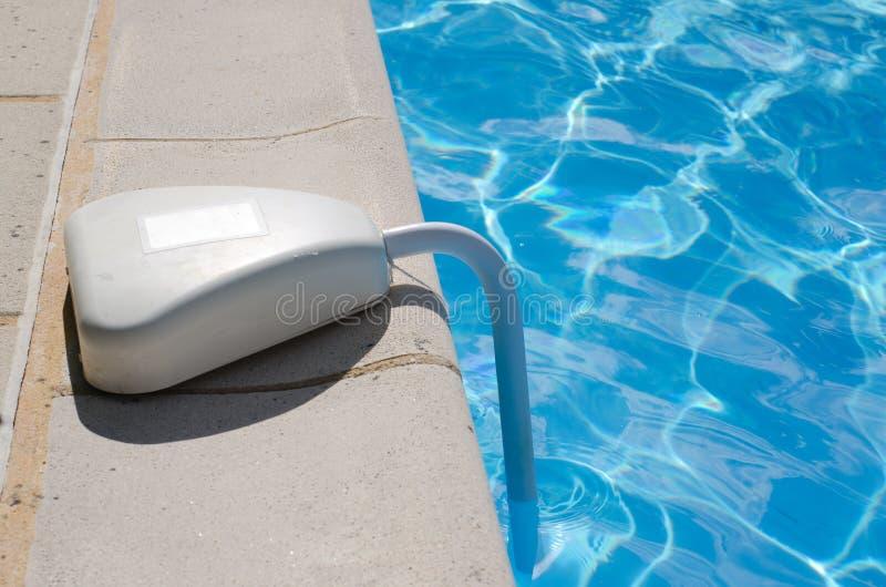 Alarme da piscina foto de stock