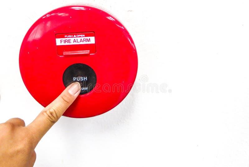 Alarme de incêndio imagem de stock royalty free