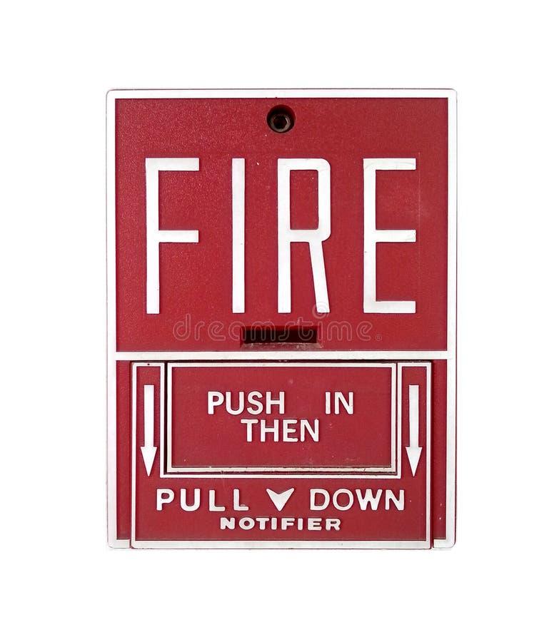 Download Isolado Do Alarme De Incêndio Foto de Stock - Imagem de ative, flama: 29828520