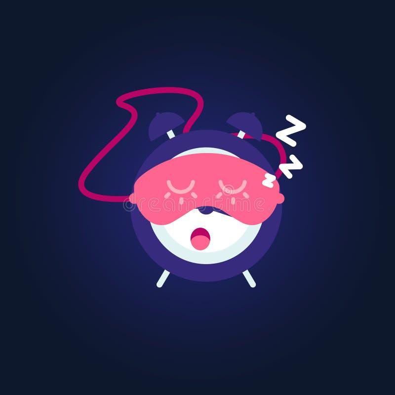 Alarme de sommeil illustration de vecteur