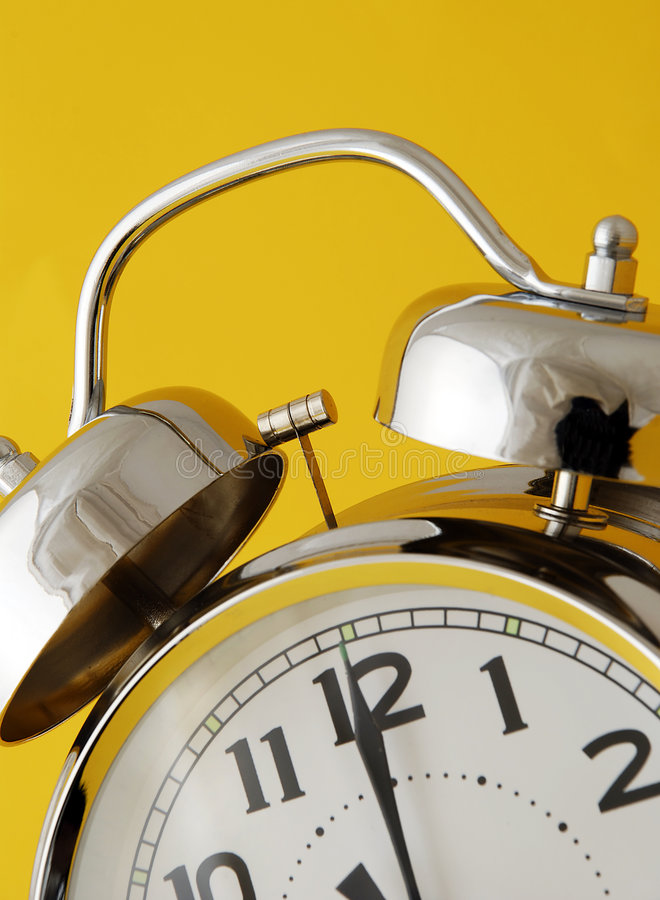 Alarme jaune images libres de droits