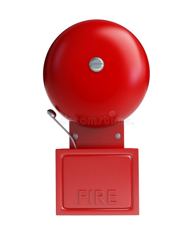 alarmowy ogień ilustracji
