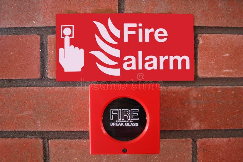 alarmowy ogień obraz royalty free