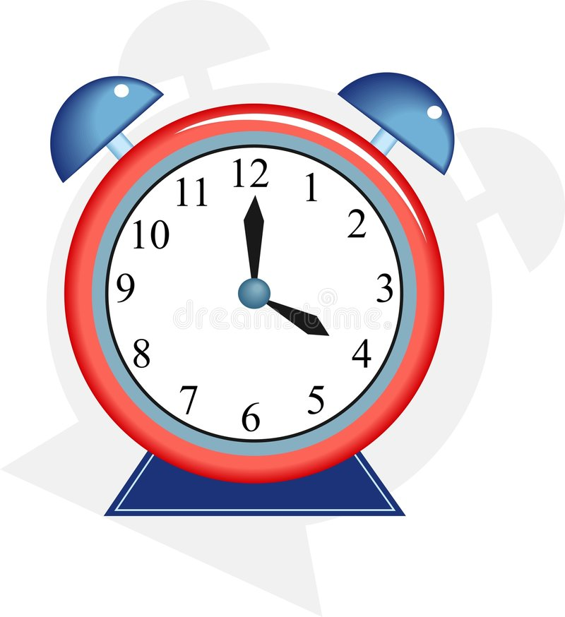 Download Alarmuhr vektor abbildung. Illustration von borduhr, sekunden - 48791