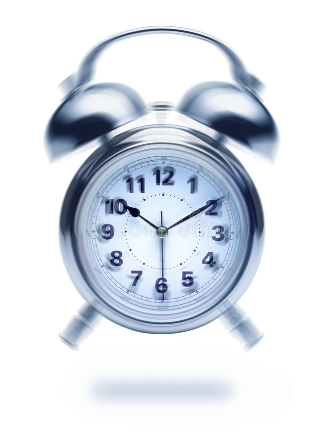 Alarmuhr-Klingeln lizenzfreie stockfotografie