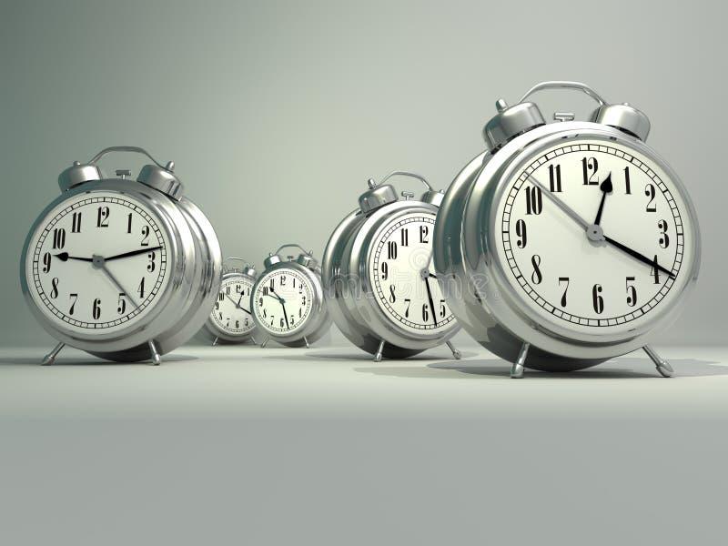 Alarmuhren vektor abbildung