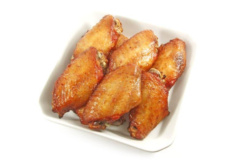 Alas de pollo imagen de archivo libre de regalías