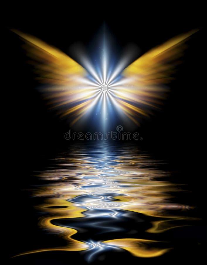 Alas del ` s del ángel ilustración del vector