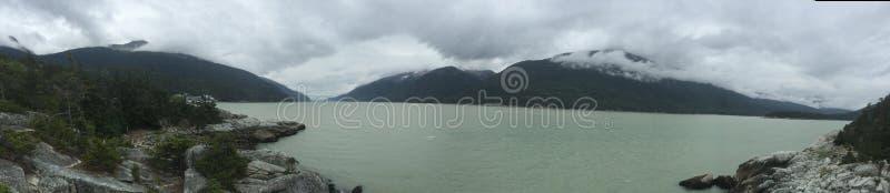 Alascy widoki Skagway zdjęcia stock