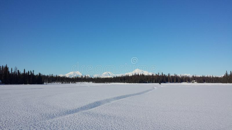 Alaska& x27 τοπίο του s στοκ εικόνες