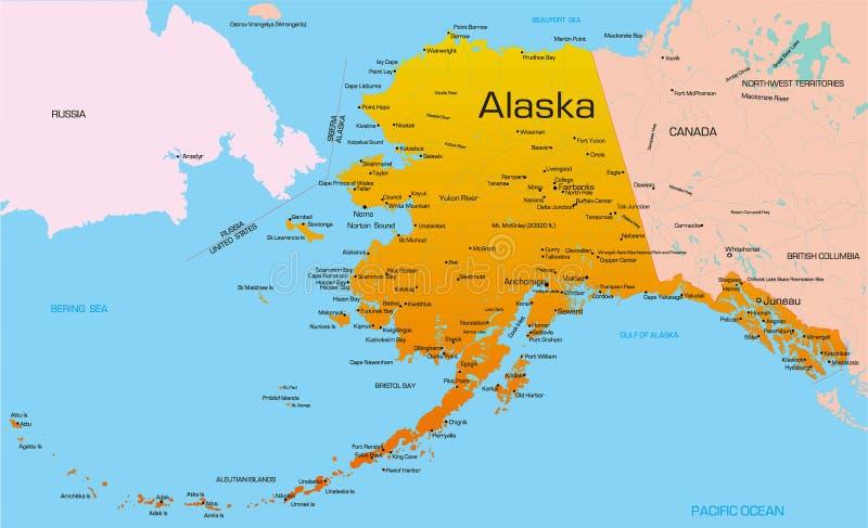 Alaska ilustração do vetor