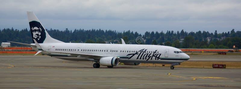 Alaska Airlines imagem de stock royalty free
