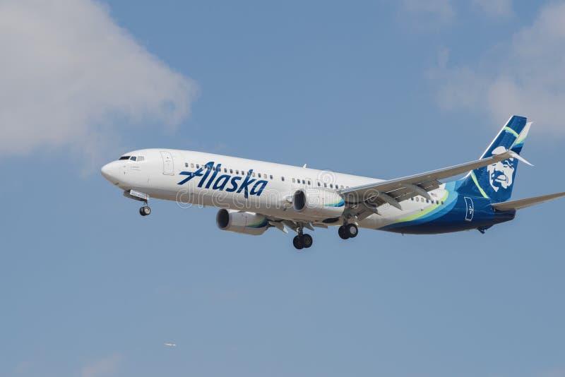 Alaska Airlines Boeing 737-990ER fotografia stock