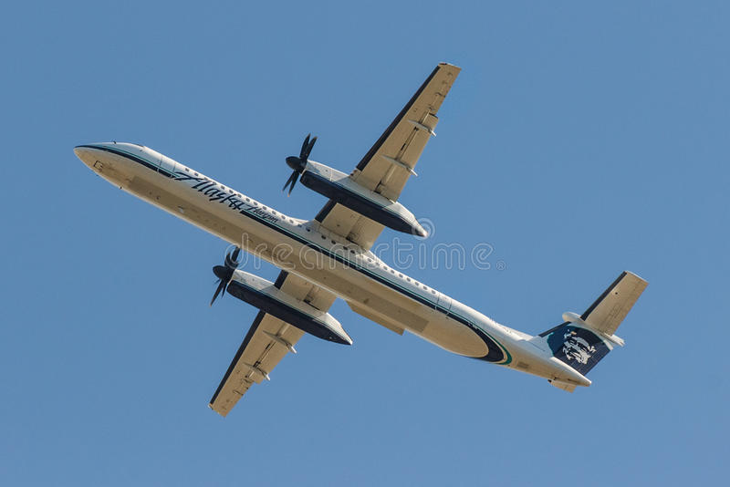 Alaska Airlines-Schlag 8 stockfotos