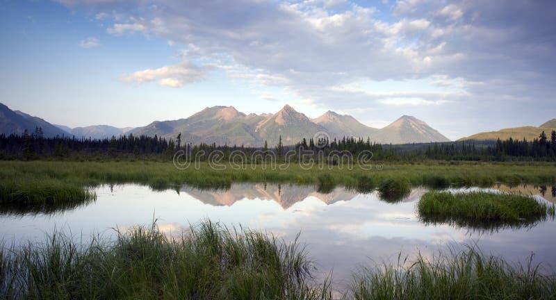 Alaska al aire libre imagenes de archivo
