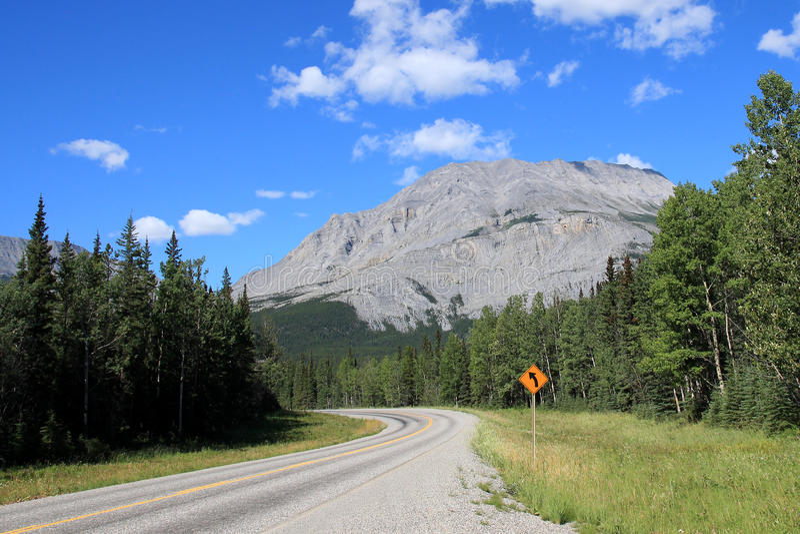 Alaska autostrada zdjęcie stock