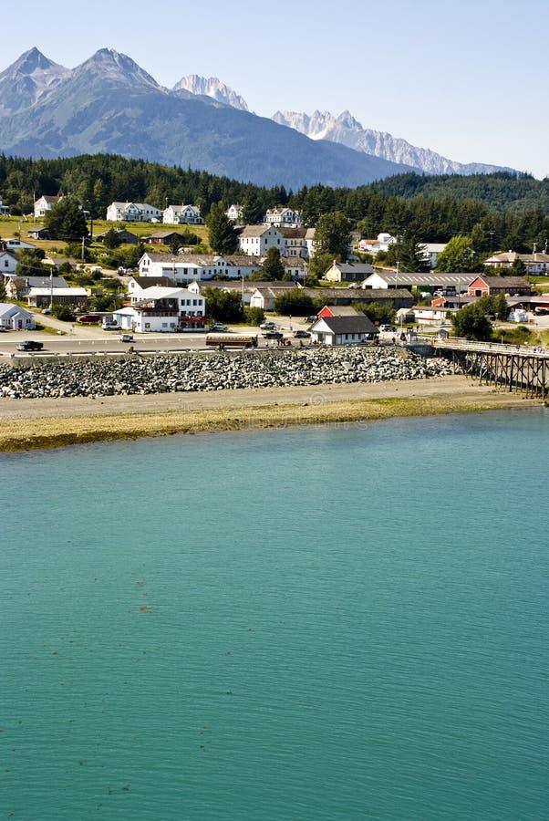Alaska - Cieszy się widok Haines zdjęcie royalty free