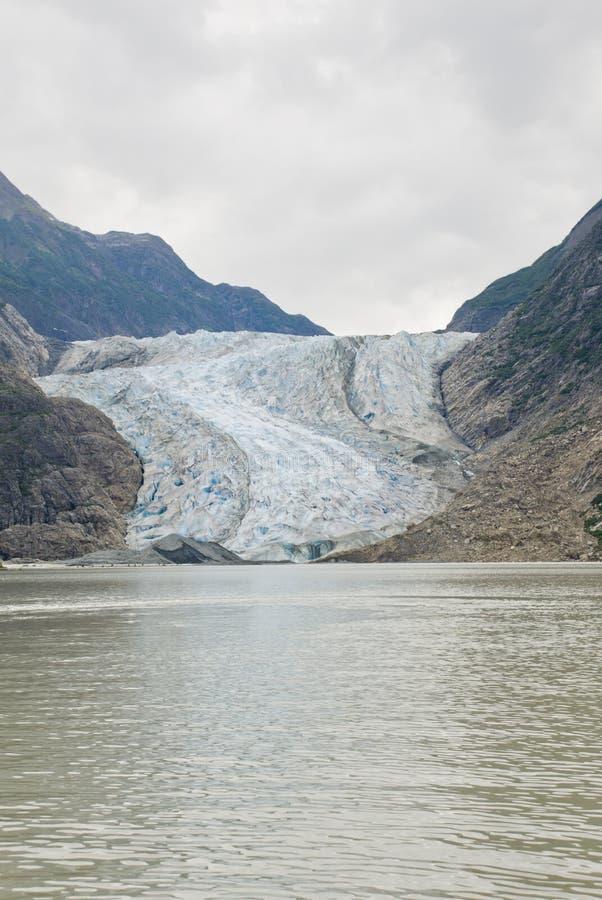 Alaska - Davidson Glacier imagen de archivo libre de regalías