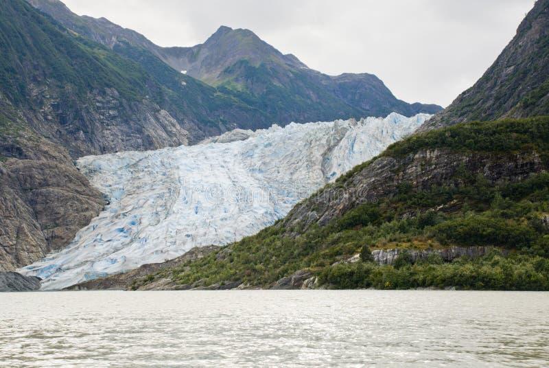 Alaska - Davidson Glacier - Landscape. USA - Alaska - The Glacier Point Wilderness Safari - Davidson Glacier - Travel destination - Alaska Cruise royalty free stock photography