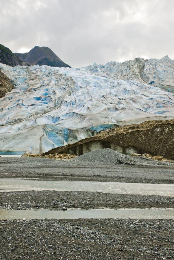 Alaska - Davidson Glacier. USA Alaska, The Glacier Point Wilderness Safari, Davidson Glacier, Travel destination, Alaska Cruise stock images