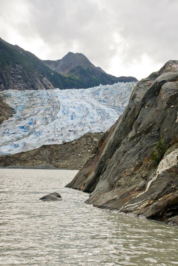 Alaska - Davidson Glacier. USA Alaska, The Glacier Point Wilderness Safari, Davidson Glacier, Travel destination, Alaska Cruise royalty free stock photos