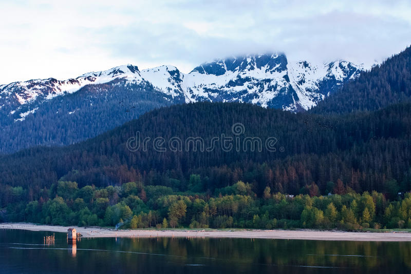 Alaska'a Douglas Insel lizenzfreie stockbilder