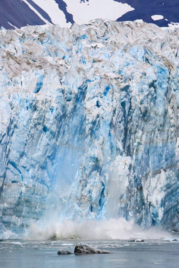 Download Alaska Glacier Ice Calving stock image. Image of adventure - 28777087
