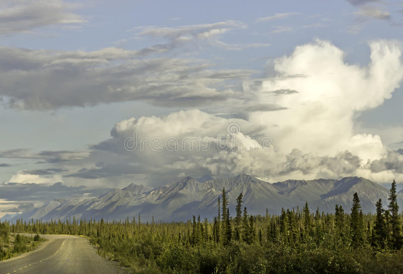Alaska Highway royalty free stock photos