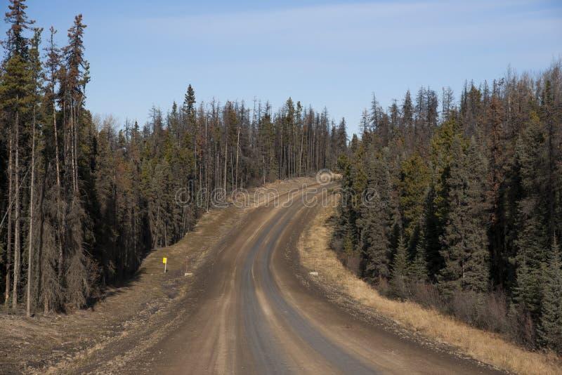 Download Alaska Highway Canada Suicide Trail Stock Image - Image of alaska, fall: 61707695