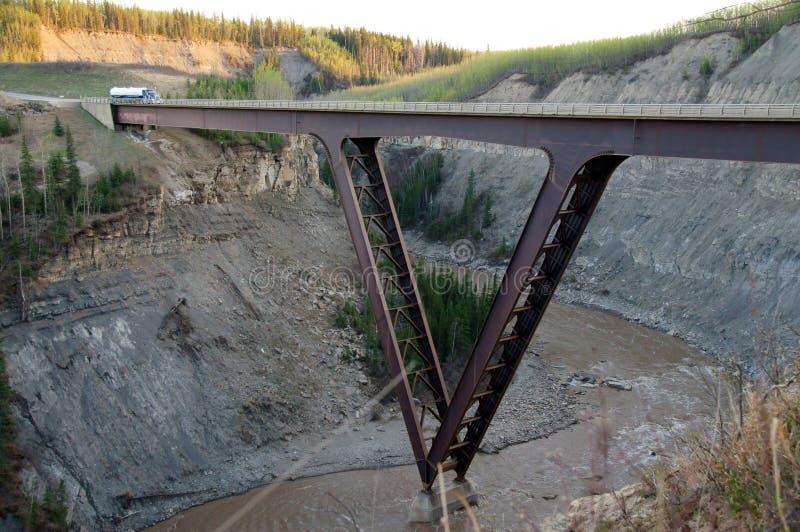 Download Alaska Highway Kiskatina River Steel Bridge Editorial Photography - Image of 1942, british: 51013512