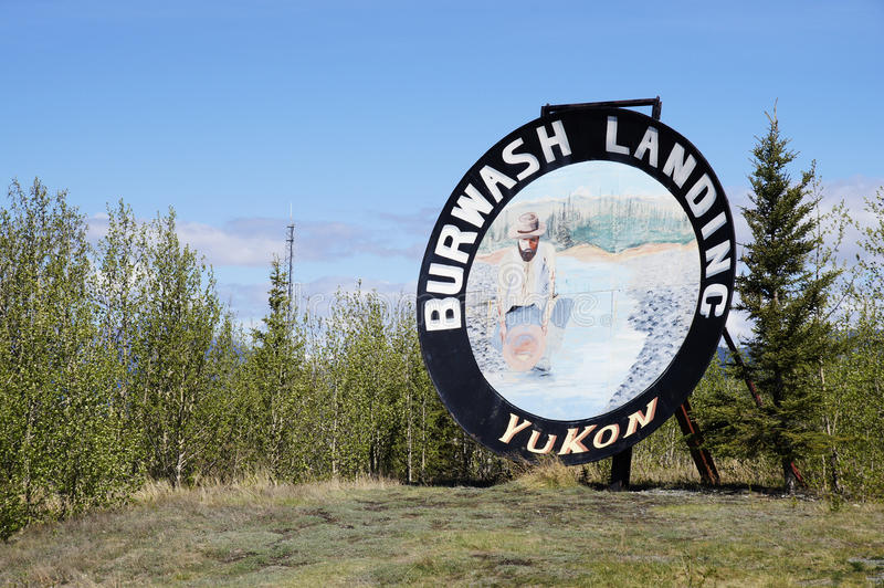 Download Alaska Highway Rest Stop editorial image. Image of british - 51717430
