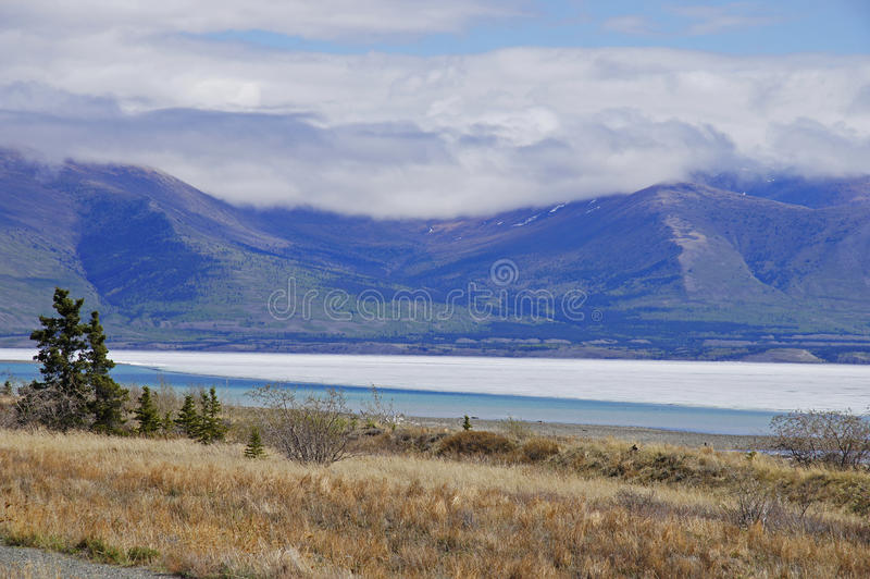 Download Alaska Highway Rest Stop stock photo. Image of mile, territory - 51717526