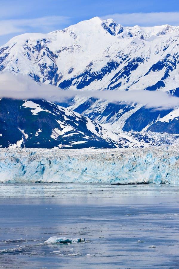 Alaska Hubbard Glacier St. Elias Mountains royalty free stock images