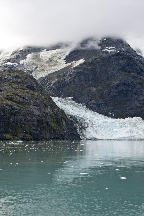 Alaska - Johns Hopkins Glacier. USA Alaska, Glacier Bay National Park and Preserve, UNESCO - World Heritage site, UNESCO - World Biosphere Reserve, Johns Hopkins stock photography