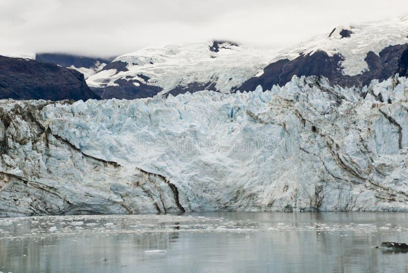 Alaska - Johns Hopkins Glacier. USA Alaska, Glacier Bay National Park and Preserve, UNESCO - World Heritage site, UNESCO - World Biosphere Reserve, Johns Hopkins royalty free stock photo